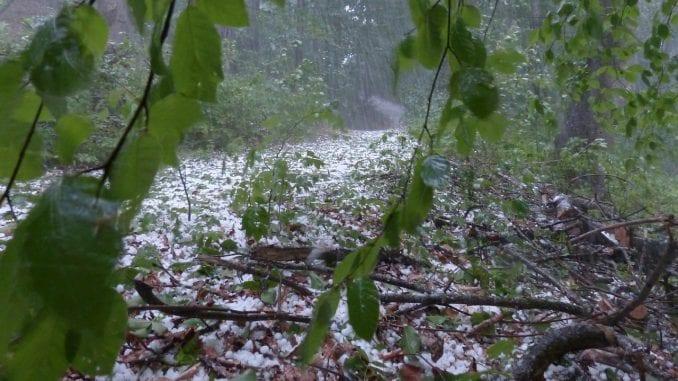 Nevreme u zapadnoj Srbiji, padale ledenice i grad veličine teniske loptice 2