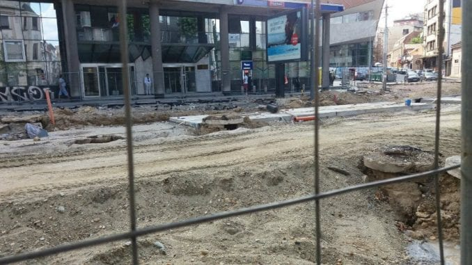 Zbog istovremenih radova u centru Beograda još veće gužve u saobraćaju 2