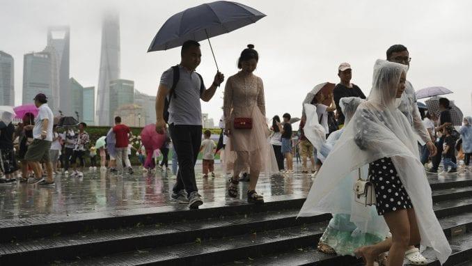 Broj poginulih u naletu tajfuna u Kini povećan na 33 1