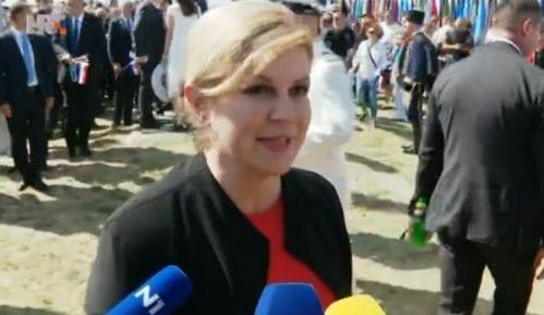 Grabar Kitarović u Kninu na proslavi Oluje indirektno najavila kandidaturu 8