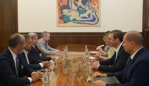 Kukan i Flekenštajn se sastali s Vučićem 4