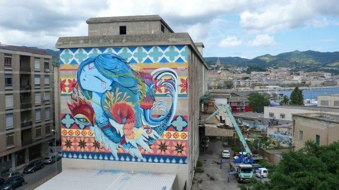 Julieta XLF slika mural na festivalu Rekonstrukcija 4