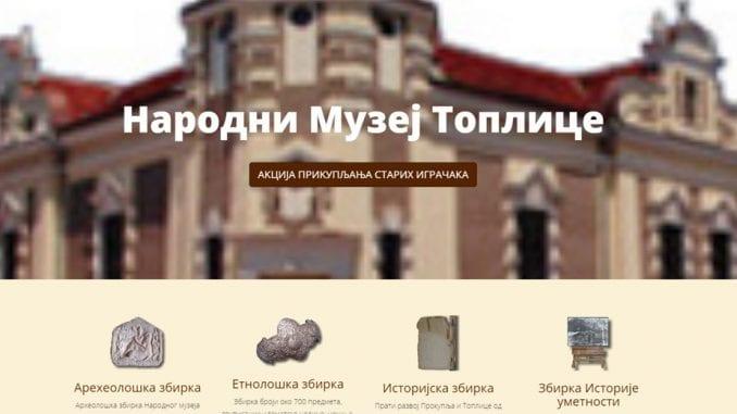 Narodni muzej Toplice pozvao zainteresovane da se uključe u obeležavanje Dana evropske baštine 1