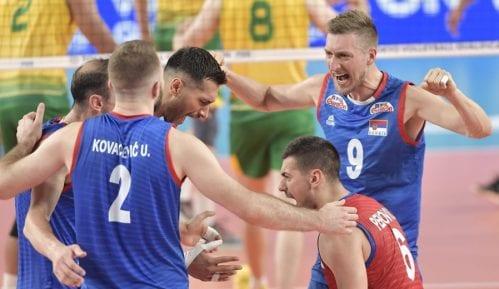 Srpski odbojkaši sutra počinju takmičenje na Evropskom prvenstvu 5