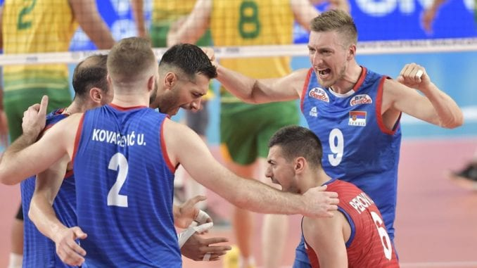 Srpski odbojkaši sutra počinju takmičenje na Evropskom prvenstvu 1