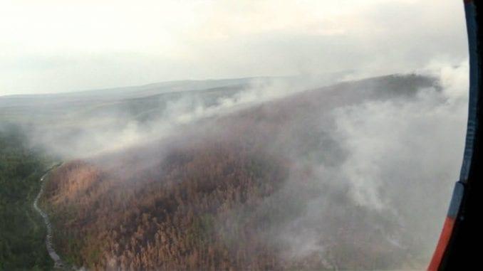 Tramp ponudio pomoć Putinu u suzbijanju šumskih požara u Sibiru 1