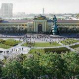Autor projekta Savskog trga Mark Fenvik u poseti Beogradu 1