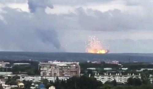 U eksploziji u vojnom depou u Sibiru 12 osoba povređeno, jedna nestala 5