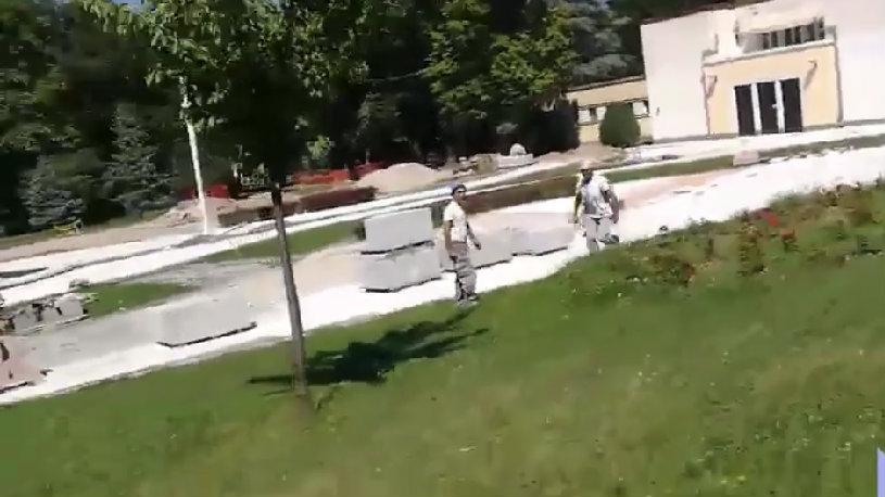 """Aktivistu """"Niške inicijative"""" napali radnici koji izvode javne radove u Niškoj banji 1"""