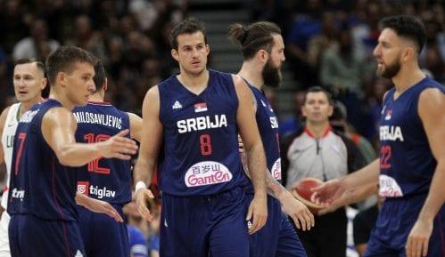 Srpski košarkaši pobedili Litvaniju u pripremnoj utakmici za SP 7