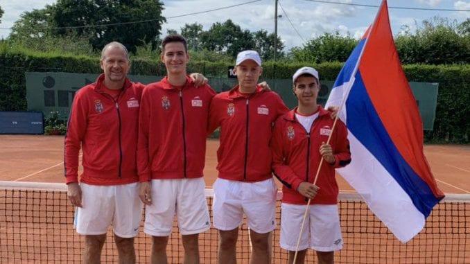 Tenis: Srbija ekipni vicešampion Evrope u muškoj konkurenciji do 16 godina 1