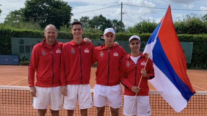 Mladi teniseri Srbije u finalu Letnjeg Ekipnog šampionata Evrope 3