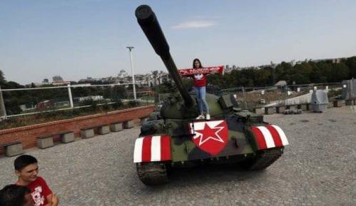 GDF: Tenk kod stadiona demonstracija militantne, nasilne svesti 7