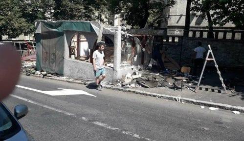 Porušeni objekti u Resavskoj i Višegradskoj pored Urgentnog centra 2