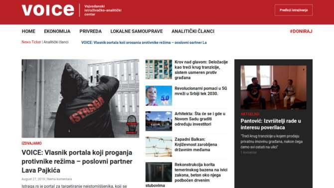 VOICE: Vlasnik portala Istraga.rs koji proganja protivnike režima - poslovni partner Lava Pajkića 1