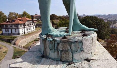 Zbog demontaža spomenika Pobednik, Gornji grad Beogradske tvrđave zatvoren za posetioce 12