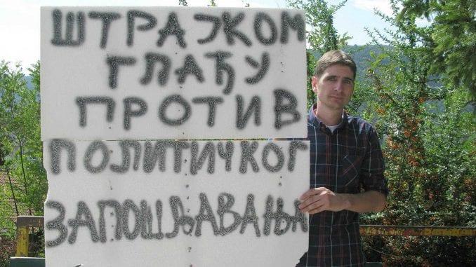 Pozlilo učitelju koji štrajkuje glađu 1