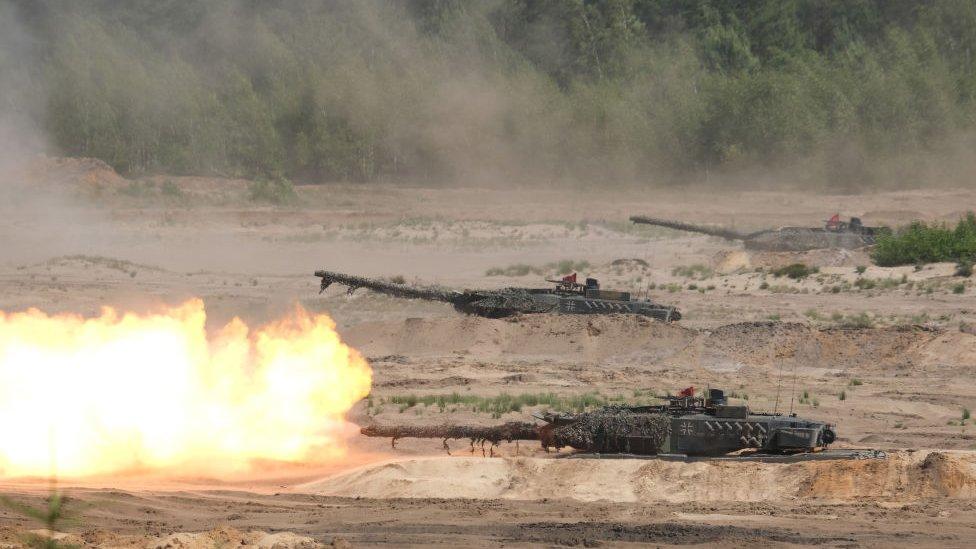 tenk u nato vežbi