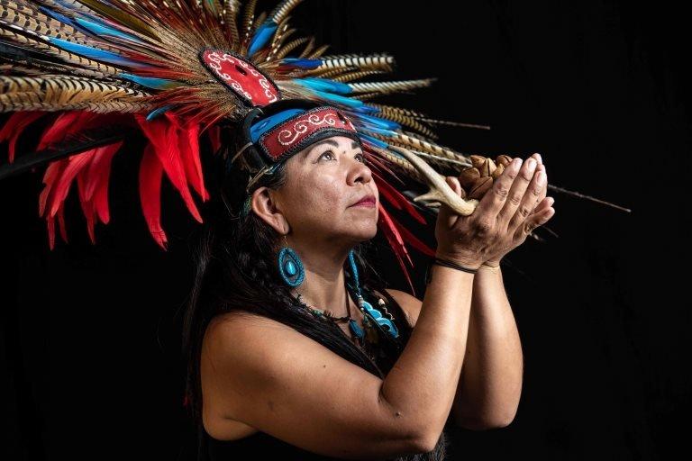 Meksikanka Elena Garsija, plesačica