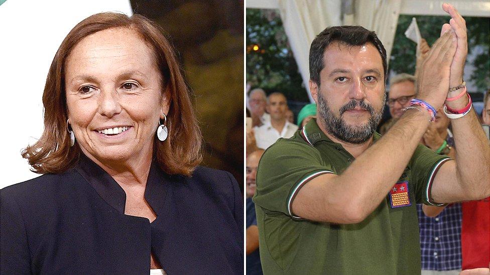 Lućana Lamorgeze i Mateo Salvini