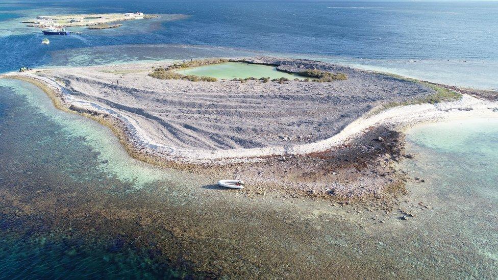 Ostrvo Barton na kojem su krijumčari sreli foku
