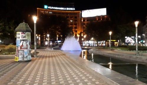 Radovi na Trgu Nikole Pašića na proleće 2020. godine 2