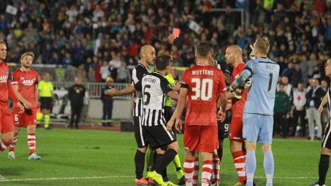 Fudbaleri Partizana nerešeno protiv  AZ Alkmara 1