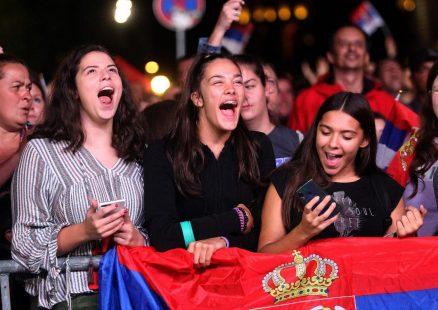 Odbojkašice Srbije proslavile titulu prvaka Evrope s navijačima u Beogradu (VIDEO, FOTO) 2