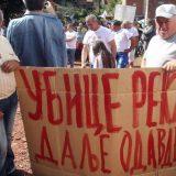 U Toplom Dolu održan protest meštana protiv gradnje MHE 9