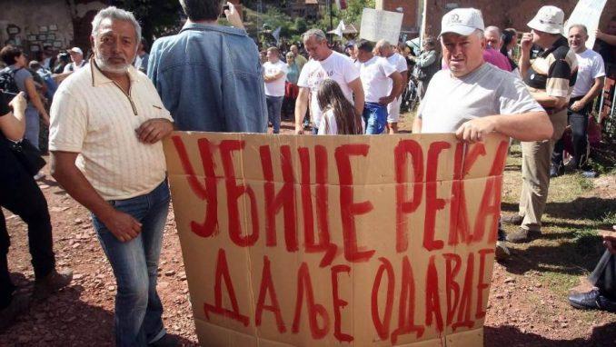 Sukob meštana i aktivista sa radnicima obezbeđenja investitora u Toplom Dolu 4