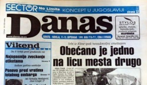 Danas (1999): Vuk i Danica Drašković - prvi par jugoslovenske opozicije 11