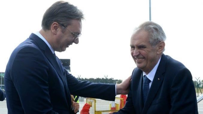 Zeman govori u prazno jer češka vlada ne vidi razlog za povlačenje priznanja Kosova 1