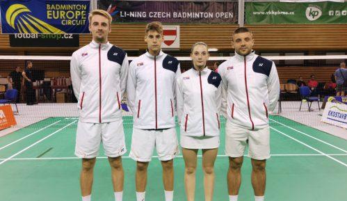 Srbija uzela dva odličja na Svetskom seniorskom kupu u badmintonu 15