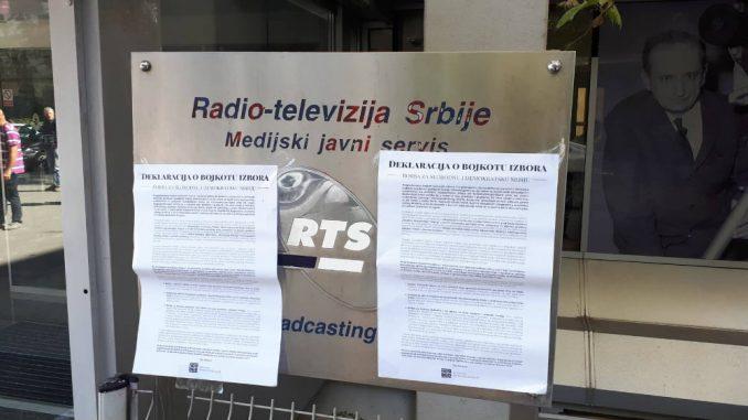 NDMBGD: Otvoreno pismo glavnim urednicima najvećih kontrolisanih medija u Srbiji 1
