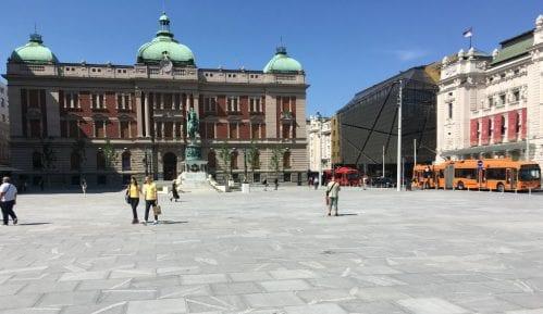 Vesić: Konačna cena radova na Trgu republike 6,4 miliona evra 3