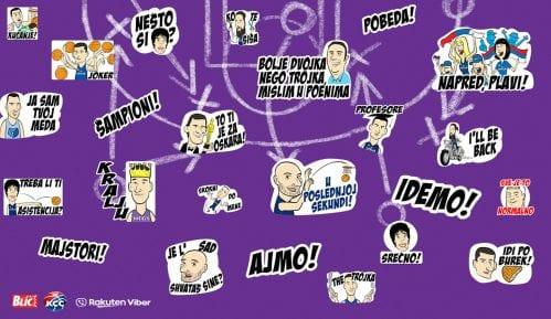 Košarkaška reprezentacija u stikerima besplatno na Viberu (FOTO) 15