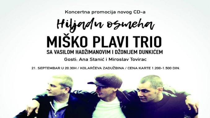 Miško Plavi vas poziva na koncert u Kolarcu (VIDEO) 3