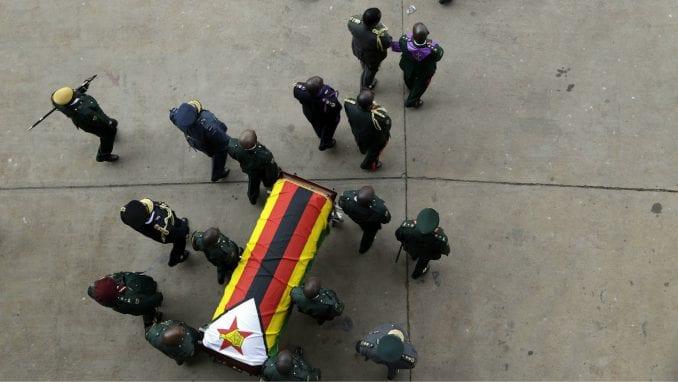 Ceremonija državne sahrane za Mugabea u Zimbabveu, pokop odložen za mesec dana 2