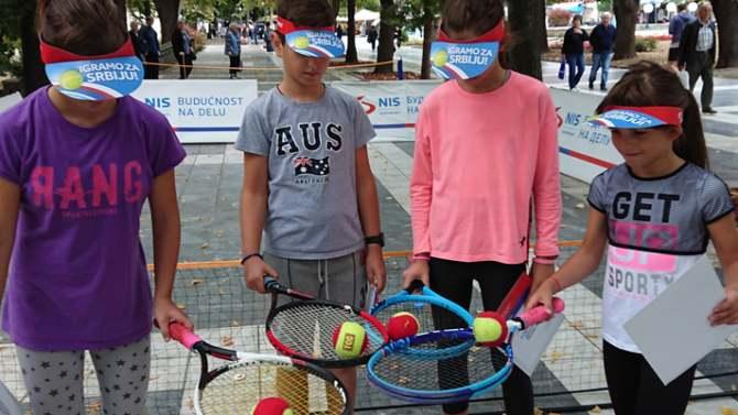 NIS otvorena škola tenisa obradovala mališane u Sokobanji 3