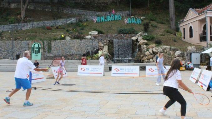 NIS otvorena škola tenisa posetila Vrnjačku Banju 2
