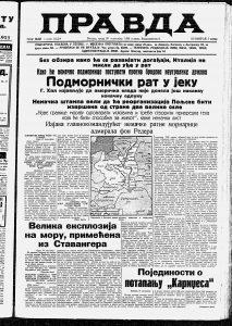 Vest koja je senzacionalno odjeknula u Evropi 1. oktobra pre 80 godina 3