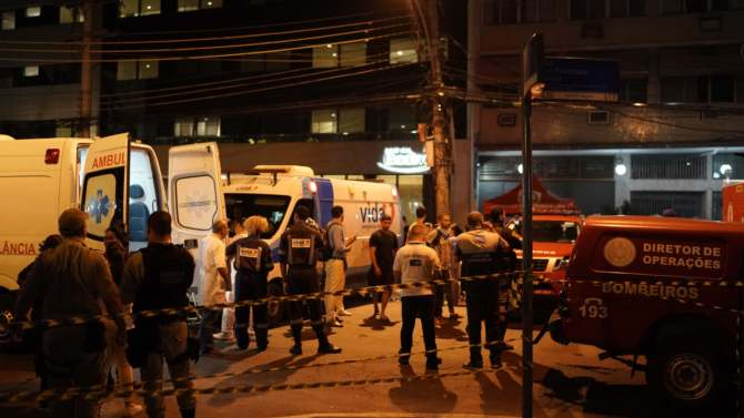 Deset mrtvih u požaru u bolnici Rio de Žaneiru 2
