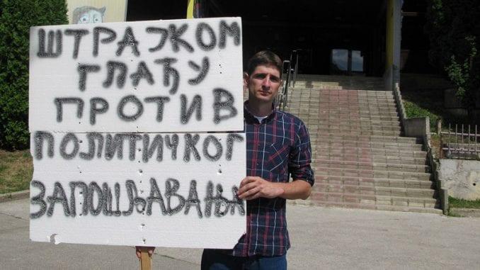 Užice: Učitelj prekinuo štrajk glađu protiv stranačkog zapošljavanja 1