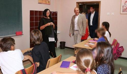 Gradonačelnik Beograda sa đacima prvacima o gradskom prevozu 6