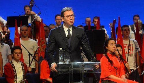 Vučić na proslavi 70 godina NR Kine: Živelo čelično prijateljstvo Srbije i Kine 10