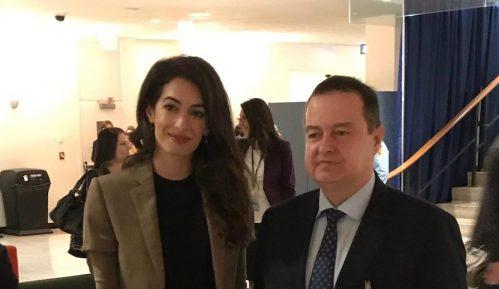 Amal Kluni razgovarala sa Dačićem o slobodi medija 10