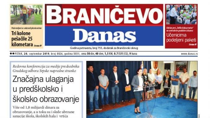 Braničevo - 20. septembar 2019. 1