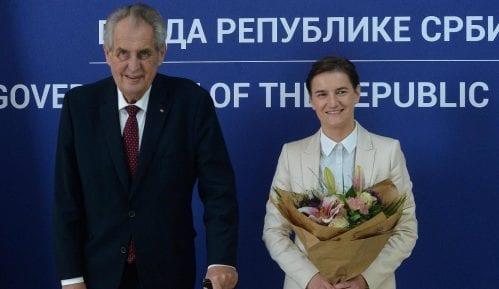 Brnabić i Zeman: Češke investicije sve prisutnije u Srbiji 12