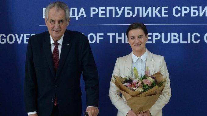 Brnabić i Zeman: Češke investicije sve prisutnije u Srbiji 1