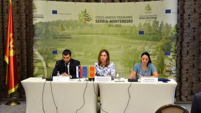 Za prekogranične projekte Crne Gore i Srbije 3,24 miliona evra 2